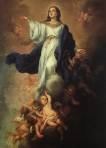 The Assumption by Murillo