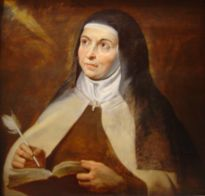 St. Teresa of Avila - by Peter Paul Rubens
