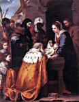 The Adoration of the Magic by Murillo