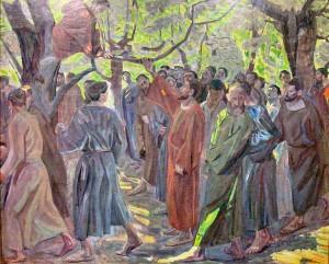 Christ and Zacchaeus - Niels_Larsen_Stevns-_Zakæus