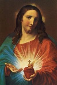 Sacred Heart - Pompeo Batoni