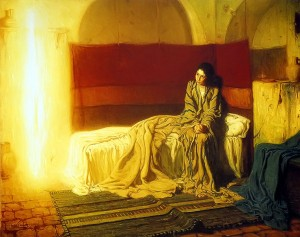 The Annunciation - Henry Ossaw Tanner