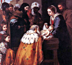 The Adoration of the Magi by Murillo